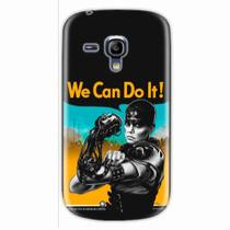 Capa para Galaxy S3 Mini We Can Do It! 01 - Quero case