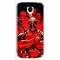 Capa para Galaxy S4 Mini Deadpool 01 - Quero case