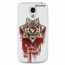 Capa para Galaxy S4 Mini Walking Dead Distintivo - Quero case