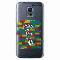 Capa para Galaxy S5 Mini Another Brick In The Wall - Quero case