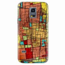 Capa para Galaxy S5 Mini Arte Colorida - Quero case