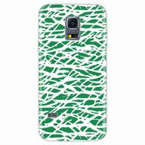 Capa para Galaxy S5 Mini Green Abstract - Quero case
