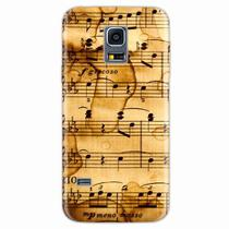 Capa para Galaxy S5 Mini Partitura Musical 01 - Quero case