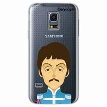 Capa para Galaxy S5 Mini The Beatles Paul McCartney - Quero case