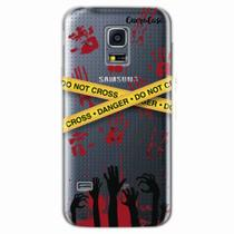 Capa para Galaxy S5 Mini Walking Dead - Apocalipse Zumbi - Quero case