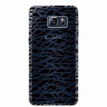 Capa para Galaxy S6 Edge Plus Black Abstract - Quero case