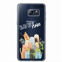 Capa para Galaxy S6 Edge Plus Gatos Love Cats - Quero case