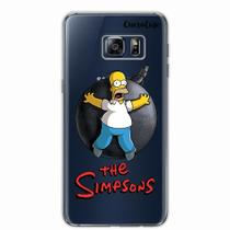 Capa para Galaxy S6 Edge Plus Homer Simpsons 05 - Quero case