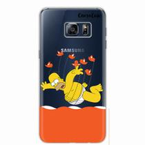 Capa para Galaxy S6 Edge Plus Homer Simpsons 06 - Quero case