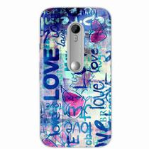 Capa para Galaxy S6 Edge Plus Love 01 - Quero case