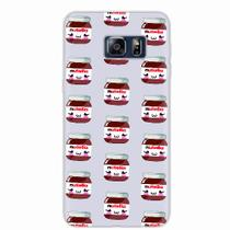 Capa para Galaxy S6 Edge Plus Nutella 03 - Quero case
