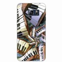 Capa para Galaxy S6 Edge Plus Piano Art 01 - Quero case