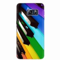 Capa para Galaxy S6 Edge Plus Piano Art 02 - Quero case