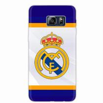 Capa para Galaxy S6 Edge Plus Real Madrid 02 - Quero case