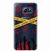 Capa para Galaxy S6 Edge Walking Dead - Apocalipse Zumbi - Quero case