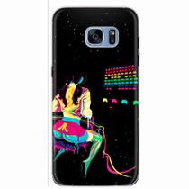 Capa para Galaxy S7 Edge Atari Space Invaders - Quero case
