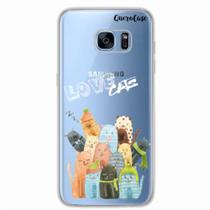 Capa para Galaxy S7 Edge Gatos Love Cats - Quero case