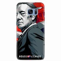 Capa para Galaxy S7 Edge House Of Cards Frank Underwood - Quero case