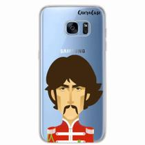 Capa para Galaxy S7 Edge The Beatles George Harrison - Quero case