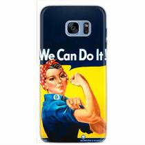 Capa para Galaxy S7 Edge We Can Do It! 02 - Quero case