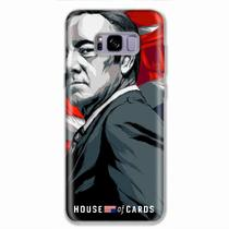 Capa para Galaxy S8 Plus House Of Cards Frank Underwood
