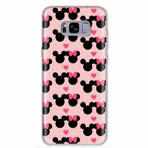 Capa para Galaxy S8 Plus Mickey e Minnie 01 - Quero case