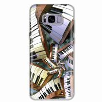 Capa para Galaxy S8 Plus Piano Art 01 - Quero case