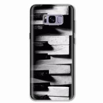 Capa para Galaxy S8 Plus Piano Art 03 - Quero case