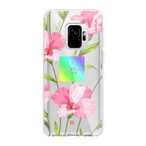 Capa para Galaxy S9 Feminina Personalizada Nouvelle Flores Casestudi - X-doria
