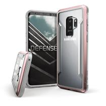 Capa para Galaxy S9 Plus X-Doria Defense Shield Rosê Anti Impacto Drop Militar