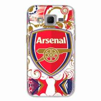 Capa para Galaxy Win 2 Duos TV Arsenal 03 - Quero case