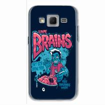 Capa para Galaxy Win 2 Duos TV Cereal Zumbi - Quero case