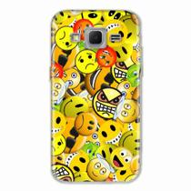 Capa para Galaxy Win 2 Duos TV Emoticon 02 - Quero case