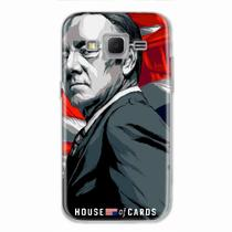 Capa para Galaxy Win 2 Duos TV House Of Cards Frank Underwood - Quero case