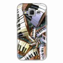 Capa para Galaxy Win 2 Duos TV Piano Art 01 - Quero case
