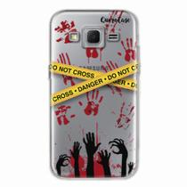 Capa para Galaxy Win 2 Duos TV Walking Dead - Apocalipse Zumbi - Quero case