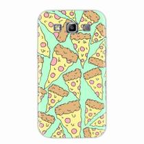 Capa para Galaxy Win Duos TV Pizza 01 - Quero case