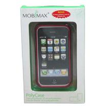 Capa para iPhone 3G Mobimax Polycase Vermelho MPUIPH2-RD -