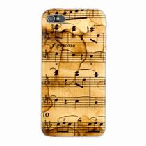 Capa para iPhone 4/4S Partitura Musical 01 - Quero case