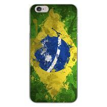 Capa para iPhone 4 e 4S - Arte  Bandeira do Brasil - Mycase