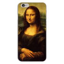 Capa para iPhone 4 e 4S - Arte  Leonardo da Vinci - Mona Lisa - Mycase