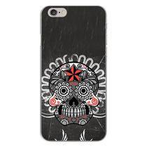 Capa para iPhone 4 e 4S - Caveira Mexicana  Preta - Mycase