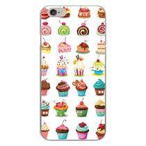 Capa para iPhone 4 e 4S - Cupcakes - Mycase