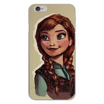 Capa para iPhone 4 e 4S - Frozen  Anna Desenho - Mycase