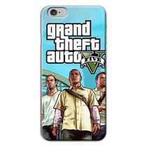 Capa para iPhone 4 e 4S - GTA V  Modelo 3 - Mycase
