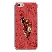Capa para iPhone 4 e 4S - História em Quadrinhos Homem de Ferro - Mycase