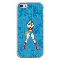 Capa para iPhone 4 e 4S - História em Quadrinhos Mulher Maravilha - Mycase