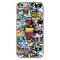 Capa para iPhone 4 e 4S - Ícones 2 - Mycase