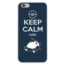 Capa para iPhone 4 e 4S - Keep Calm and Zzz - Mycase