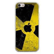 Capa para iPhone 4 e 4S - Maçã Danger Radiation - Mycase